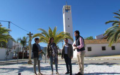 El Ayuntamiento de Alhaurín el Grande finaliza los trabajos de mejora en el acerado de la entrada a Villafranco del Guadalhorce