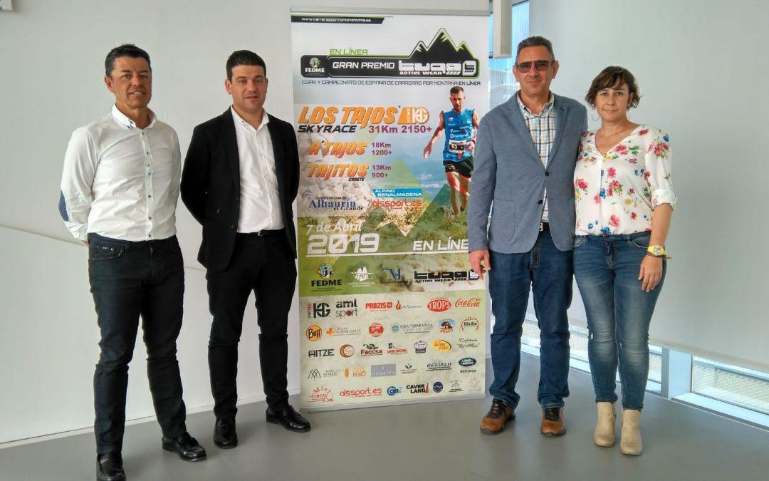 Los Tajos Skyrace tendrá lugar este domingo 7 de abril con la participación de 1.100 corredores.