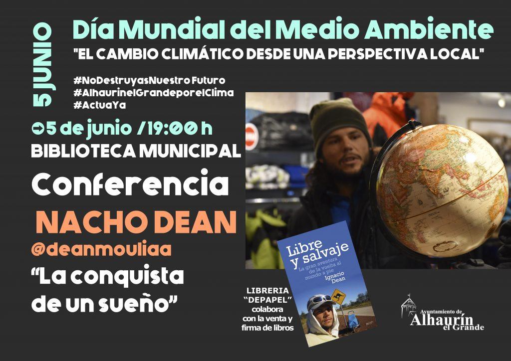 Cartel Conferencia Carlos Dean