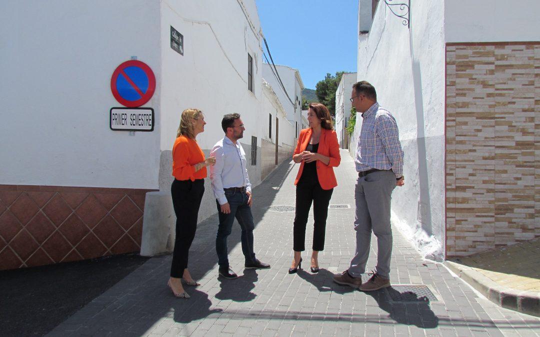 Finalizan los trabajos de remodelación integral en Callejón López y tramo de calle Iglesias