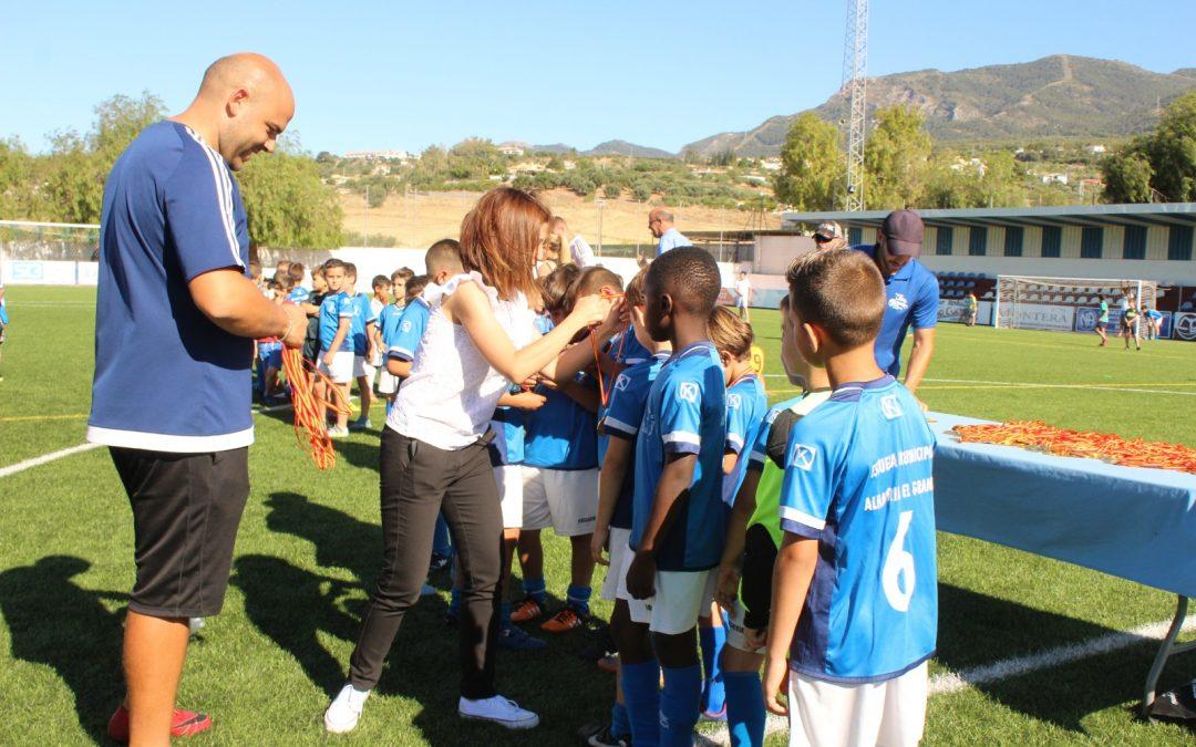 El Área de Deportes realiza un balance muy positivo de la temporada con más de un millar de deportistas inscritos en las Escuelas Deportivas Municipales