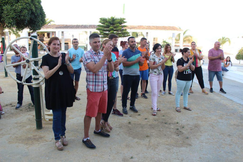 Vecinos y asociaciones en la Presentación programa Feria Villafranco 2019