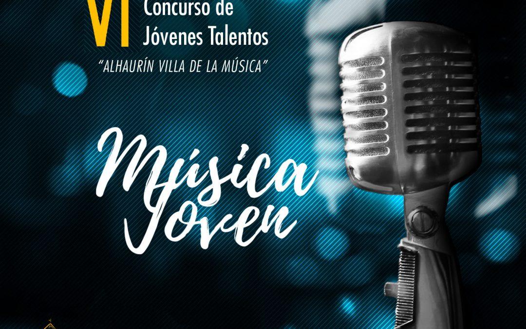 Abierto el plazo para participar en el VI Concurso Música Joven que organiza el Ayuntamiento de Alhaurín el Grande