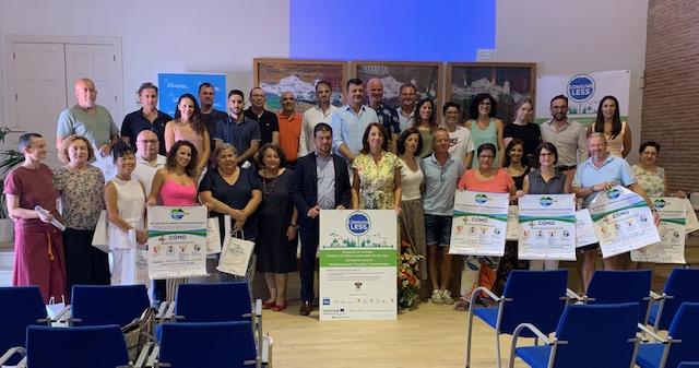 27 empresas de Alhaurín el Grande se adhieren al proyecto europeo Consumeless de turismo sostenible