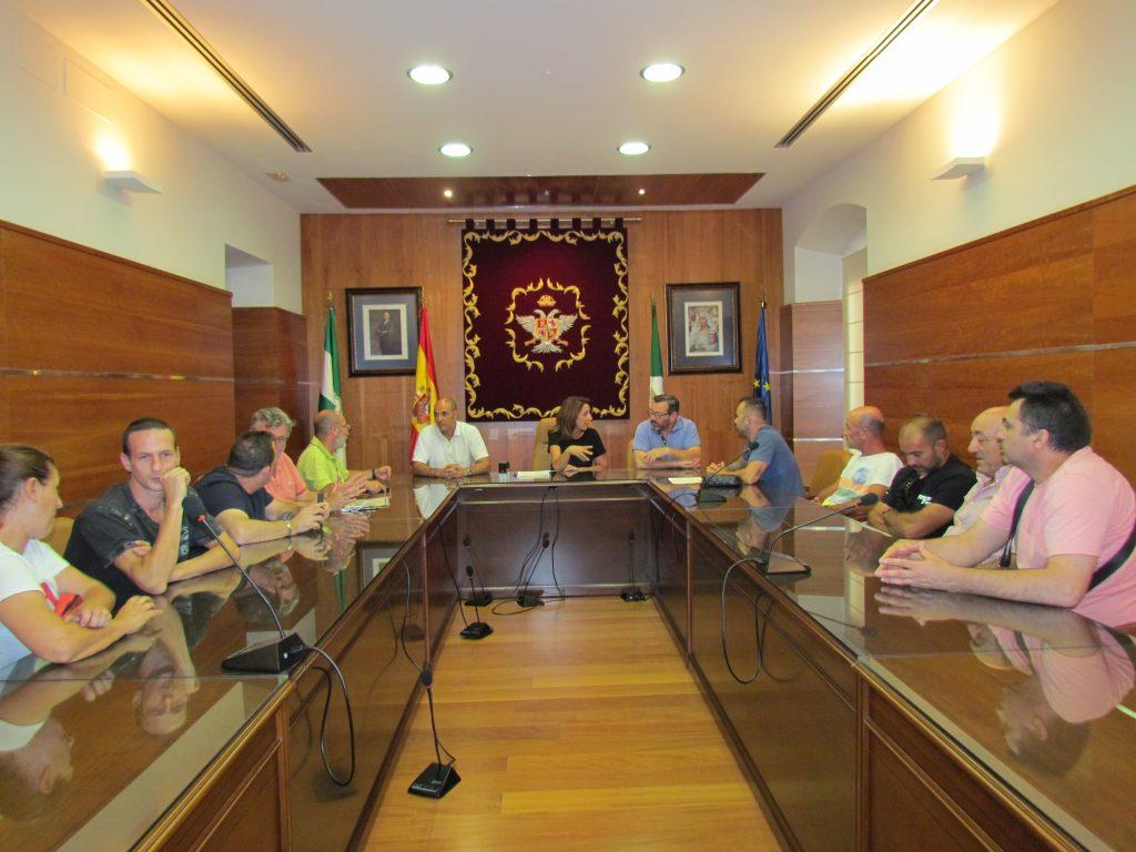 Reunión Alcaldesa y trabajadores de Urbaser