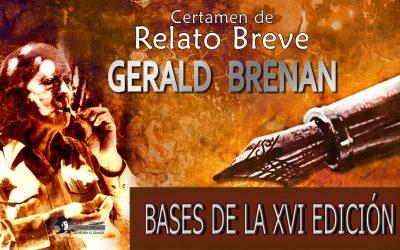 Bases XVI Certamen de Relato Breve Gerald Brenan.