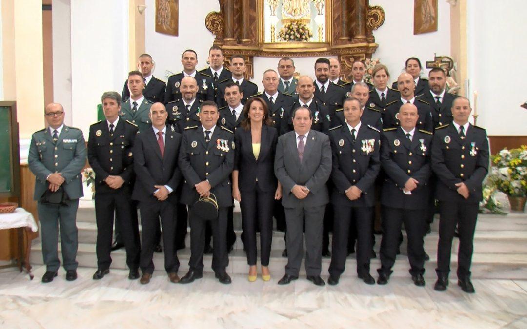 La Policía Local celebra el Día de los Ángeles Custodios.