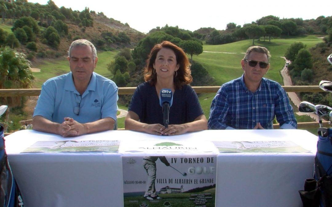"""Alhaurín Golf acogerá el IV Torneo de Golf """"Villa de Alhaurín el Grande""""."""