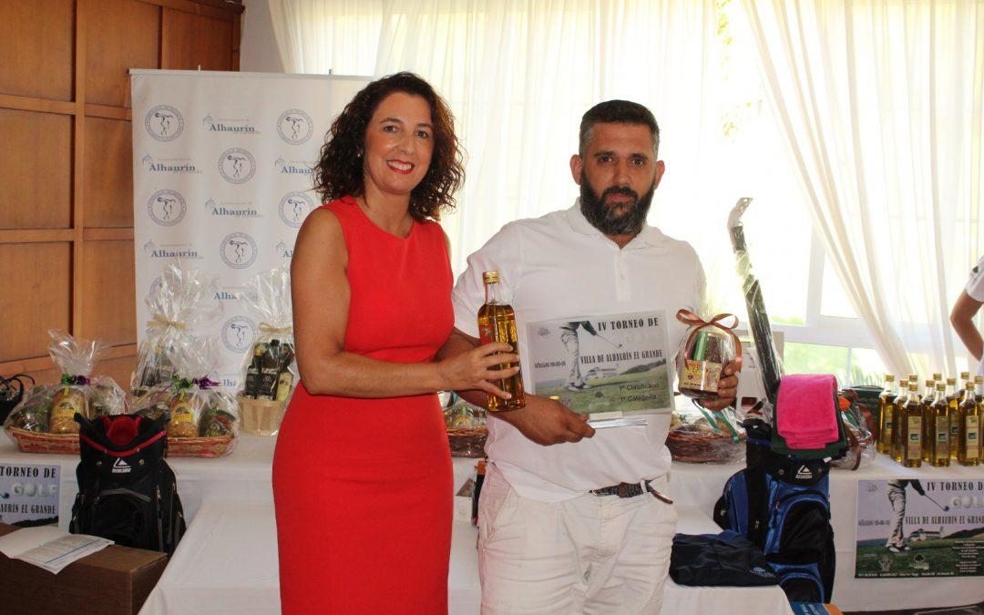 "Gran éxito del IV Torneo de Golf ""Villa de Alhaurín el Grande""."