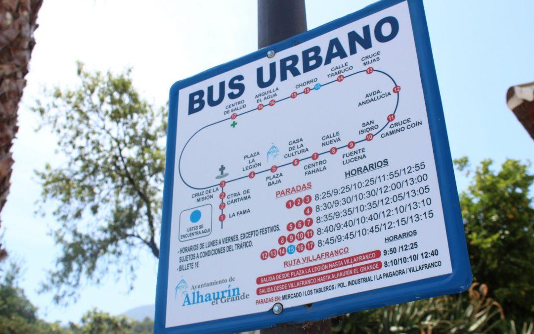 El servicio de Autobús Urbano saldrá a licitación próximamente y será subvencionado por el ayuntamiento.