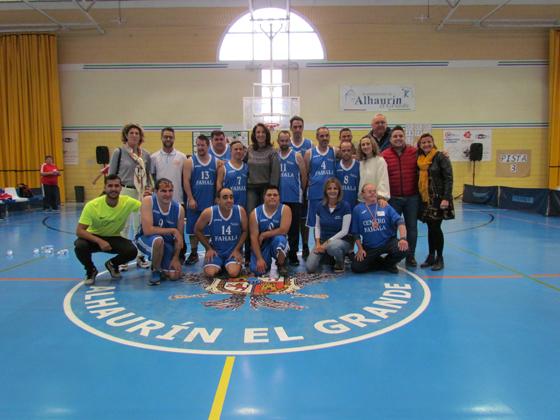 Las Jornadas de Baloncesto Adaptado Fahala reúnen a 23 centros de toda la provincia