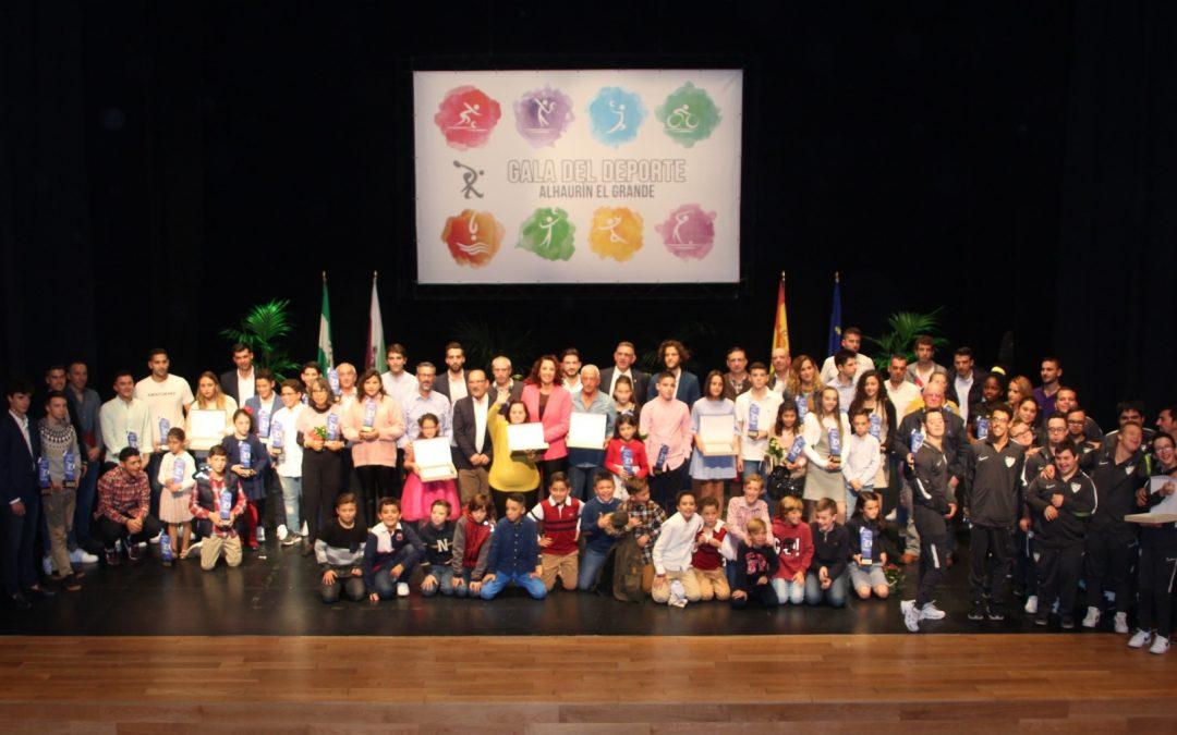 La XXXII Gala Municipal del Deporte otorga más de 70 reconocimientos a deportistas y entidades