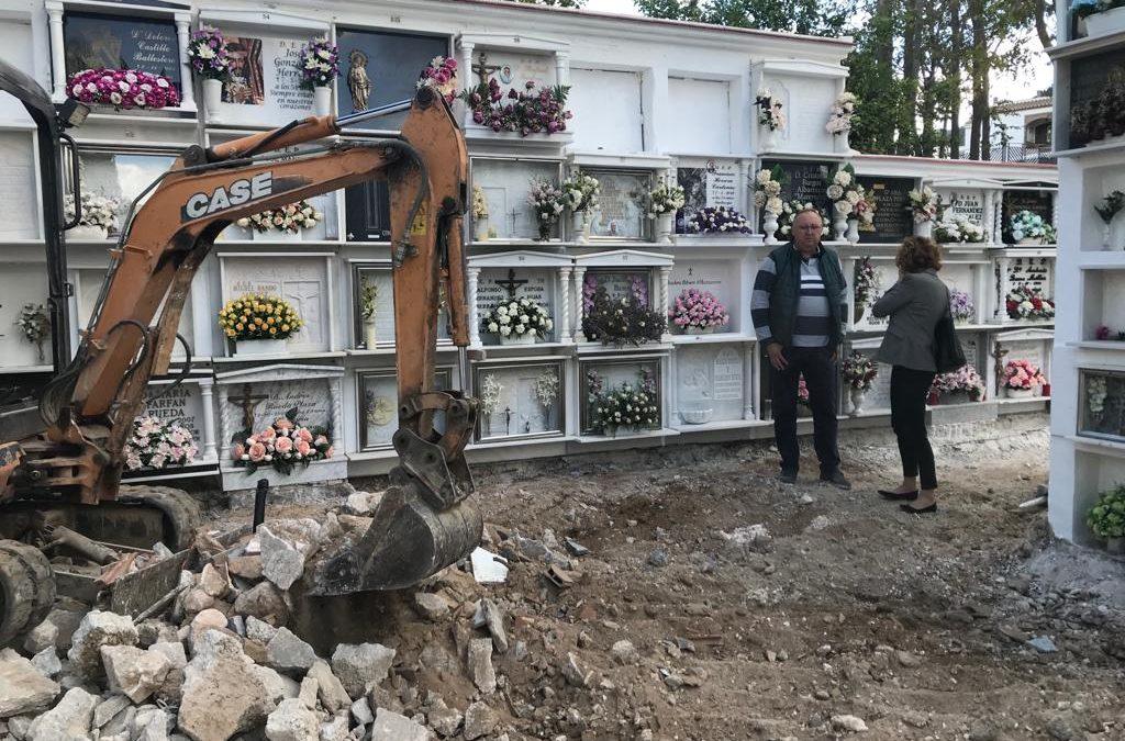 El ayuntamiento de Alhaurín el Grande emprende obras de remodelación en Parque de la Paz y Cementerio Municipal