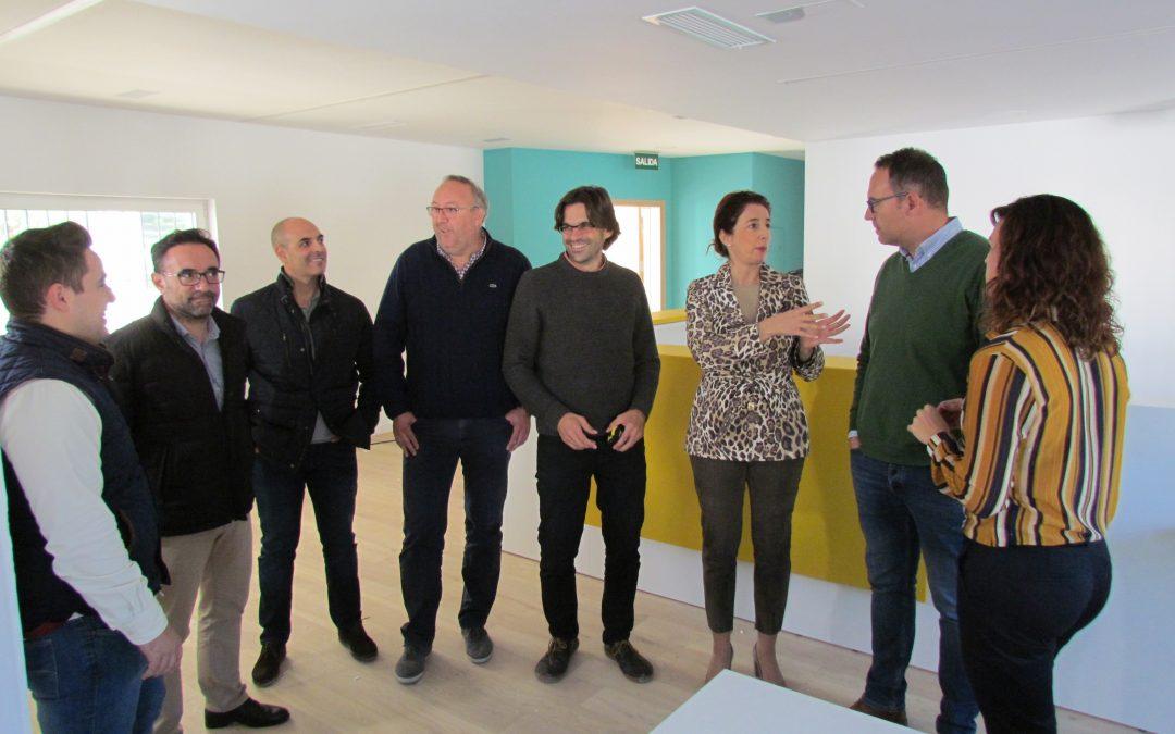 La nueva Biblioteca Municipal de Villafranco del Guadalhorce se inaugurará a mediados de diciembre.