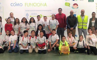 El Colegio Jorge Guillén visita el Complejo medioambiental de Valsequillo en Antequera