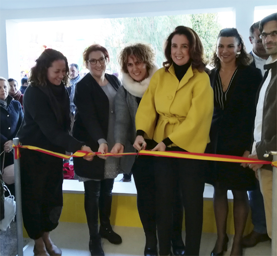 La  Alcaldesa inaugura la nueva Biblioteca Municipal Mari Pepa Estrada de Villafranco del Guadalhorce