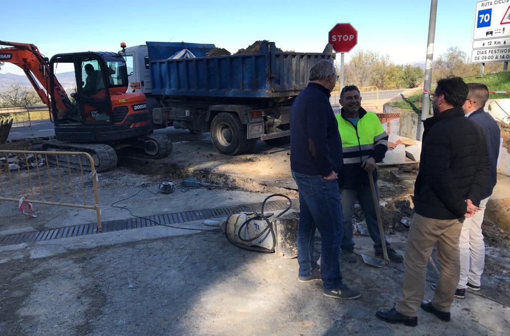 El Ayuntamiento de Alhaurín el Grande acomete el saneamiento de la Urbanización Cuesta de la Palma