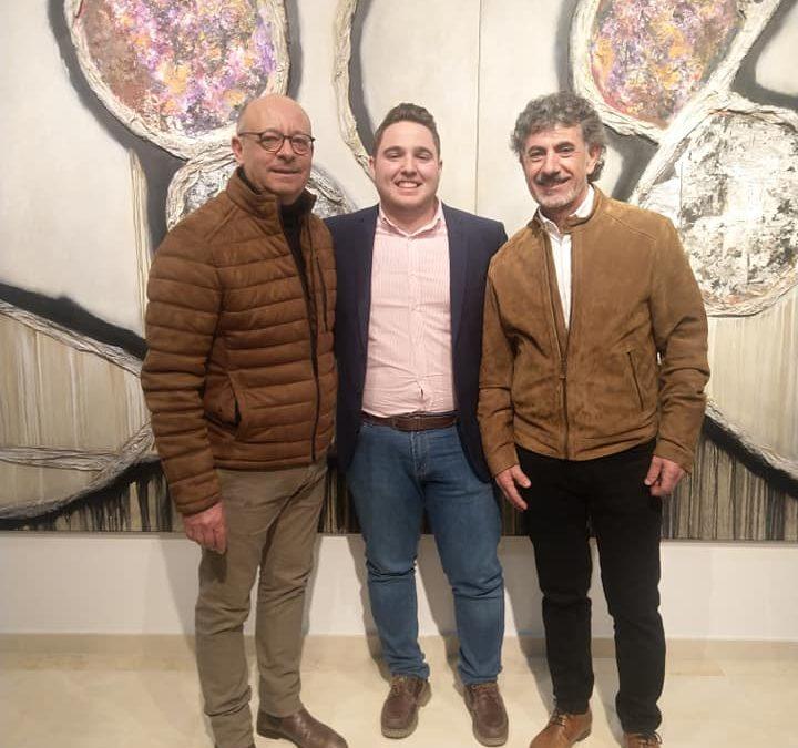 """Se inaugura la muestra """"Ese halo en lo cotidicano"""", de Francisco Jiménez y Rafael Naranjo."""