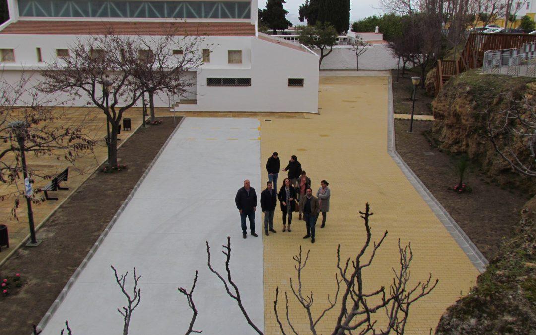 Finalizan las obras de remodelación de la última fase del Parque de la Paz