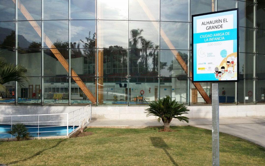 Alhaurín el Grande solicita la renovación del sello Ciudad Amiga de la Infancia de UNICEF