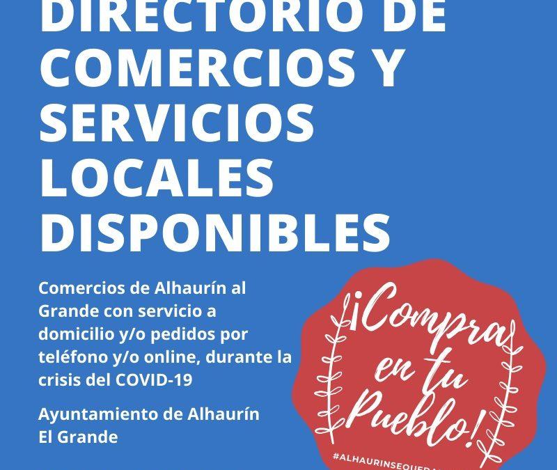 El Ayuntamiento de Alhaurín el Grande valora positivamente la campaña de apoyo al comercio local puesta en marcha durante el Estado de Alarma