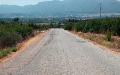 El Ayuntamiento acuerda la cesión de la titularidad de un tramo de la Carretera de Villafranco a la Diputación Provincial