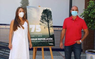 El Ayuntamiento conmemora el 75 Aniversario de la Repoblación del Pinar de la sierra de Alhaurín el Grande