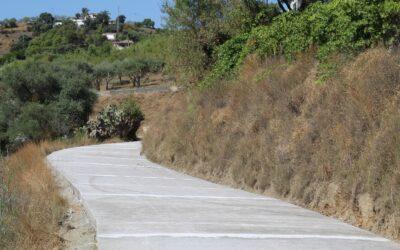 Alhaurín el Grande finaliza la mejora de cuatro caminos rurales de la localidad