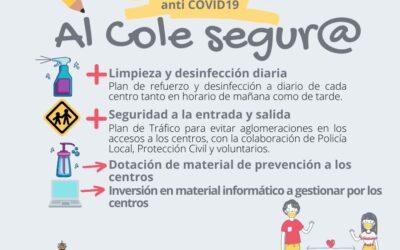 El Ayuntamiento de Alhaurín el Grande pone en marcha medidas anti Covid19 de cara a la vuelta al cole