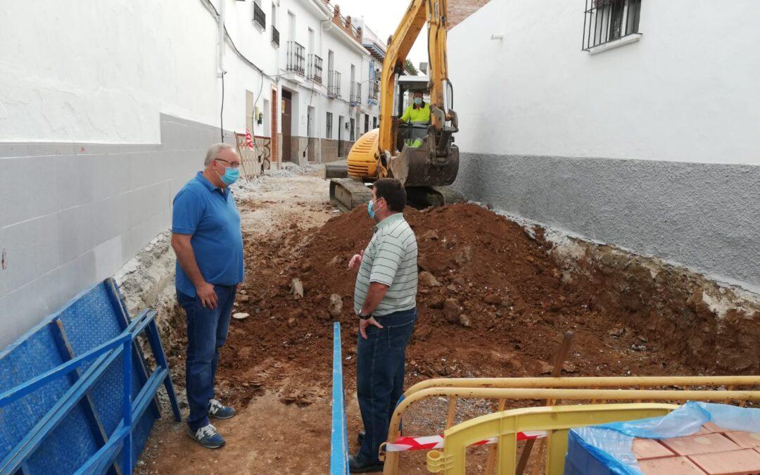 Comienza la reforma integral de Calle Zurbarán, dentro de Plan Extraordinario de Inversiones 2020