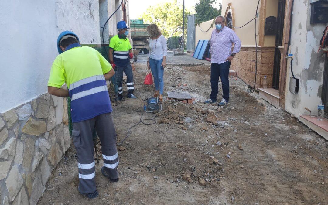 Comienzan las obras de reforma integral en las  Calles Zape y Campanillas, dentro de Plan Extraordinario de Inversiones 2020
