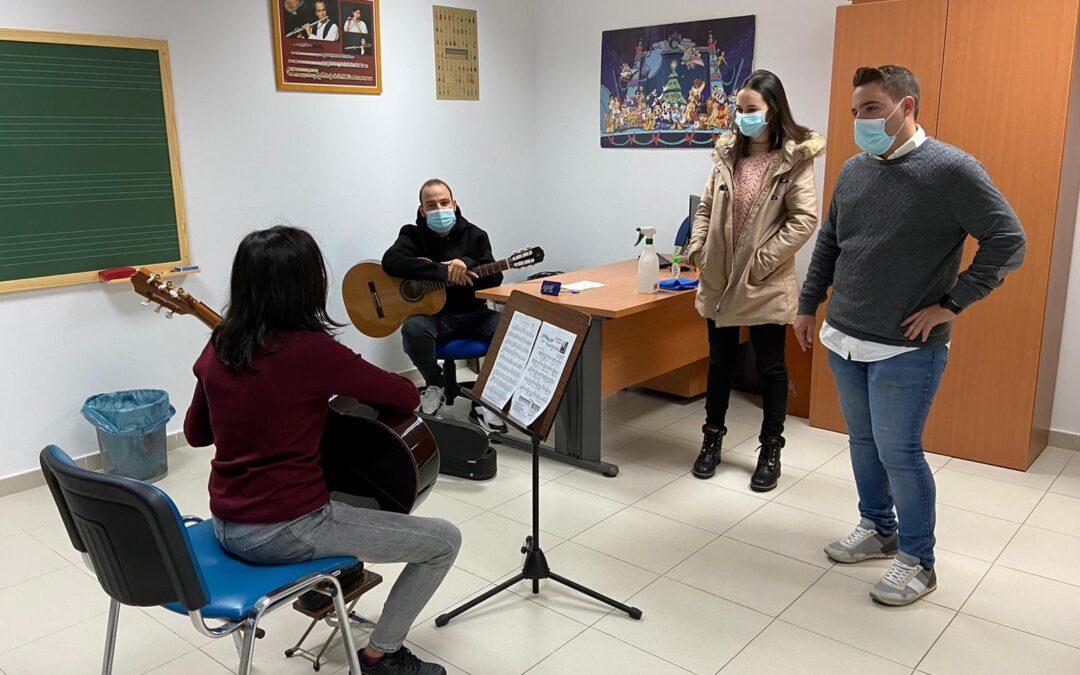"""La Escuela Municipal de Música """"Paco el Guardamontes"""" inicia el curso con más de 150 alumnos inscritos"""
