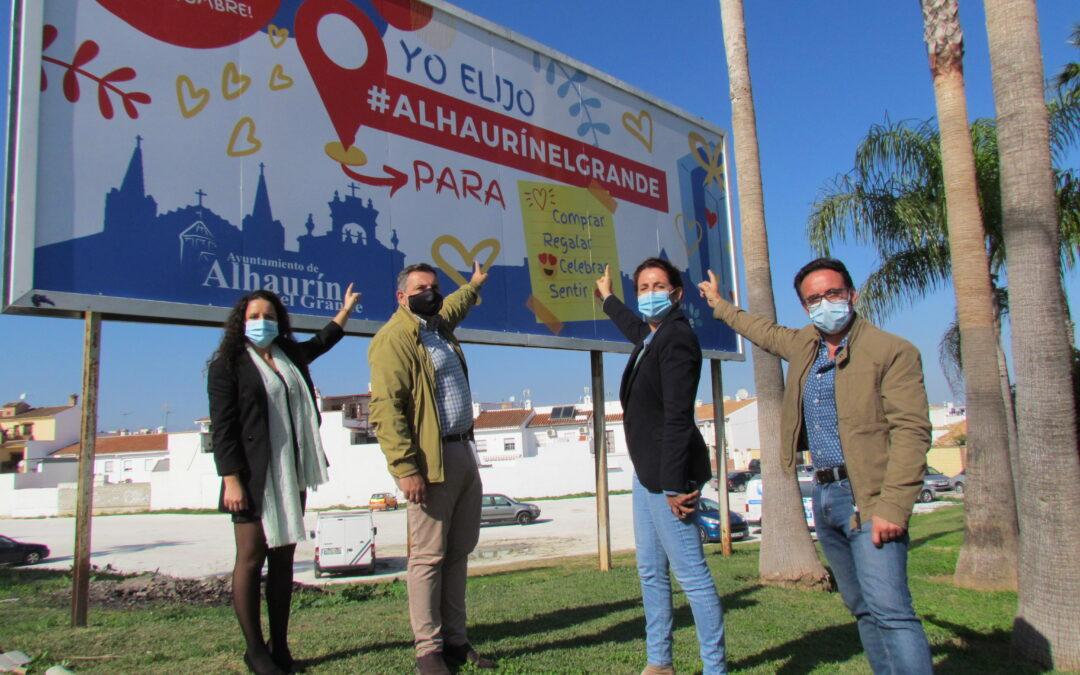 """El Ayuntamiento lanza la campaña """"Yo elijo #AlhaurínelGrande"""" para apoyar el consumo local"""