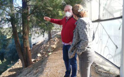 El Ayuntamiento inicia las obras de mejora en el Vivero Municipal dañado por la Dana 2019