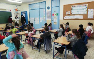 El CEIP Salvador González Cantos inicia las clases con normalidad tras su cierre parcial por un incendio