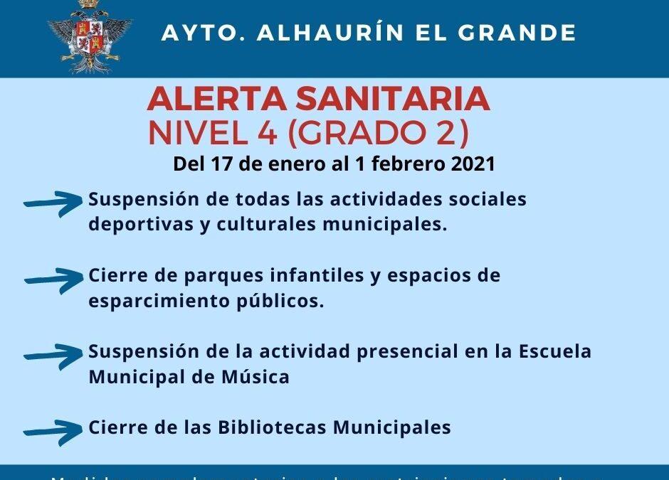 La alcaldesa anuncia une serie de medidas ante la evolución de la pandemia en el municipio