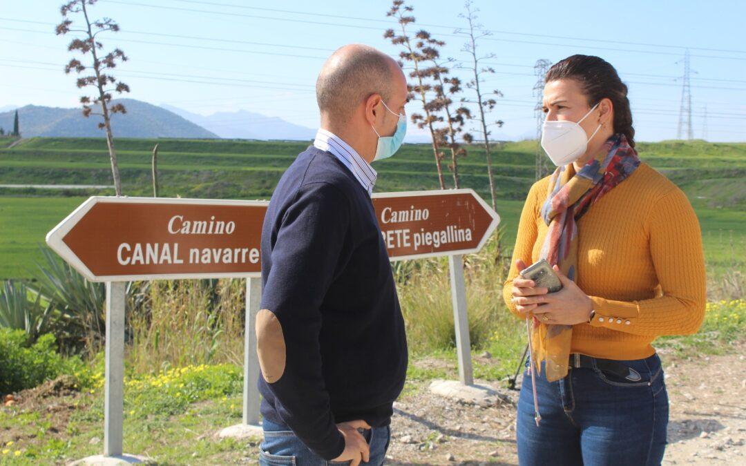 """El Ayuntamiento está acometiendo la mejora de los caminos """"Canal Navarrete"""" y """"la Carreta"""" en Villafranco del Guadalhorce"""
