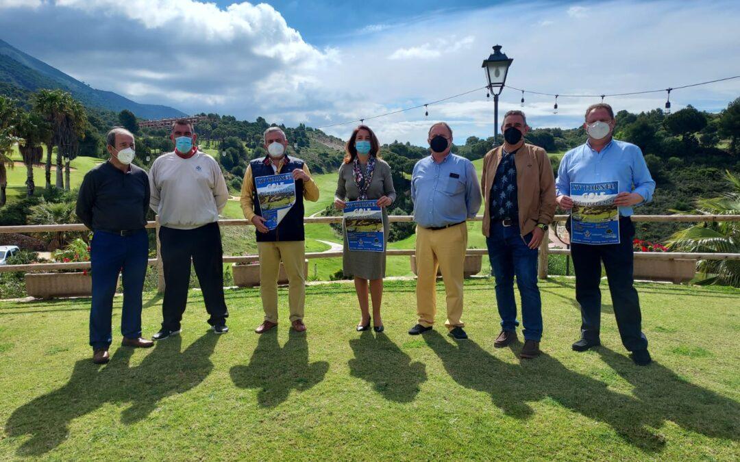 La Alcaldesa presenta el Torneo de Golf 2021 de Primavera