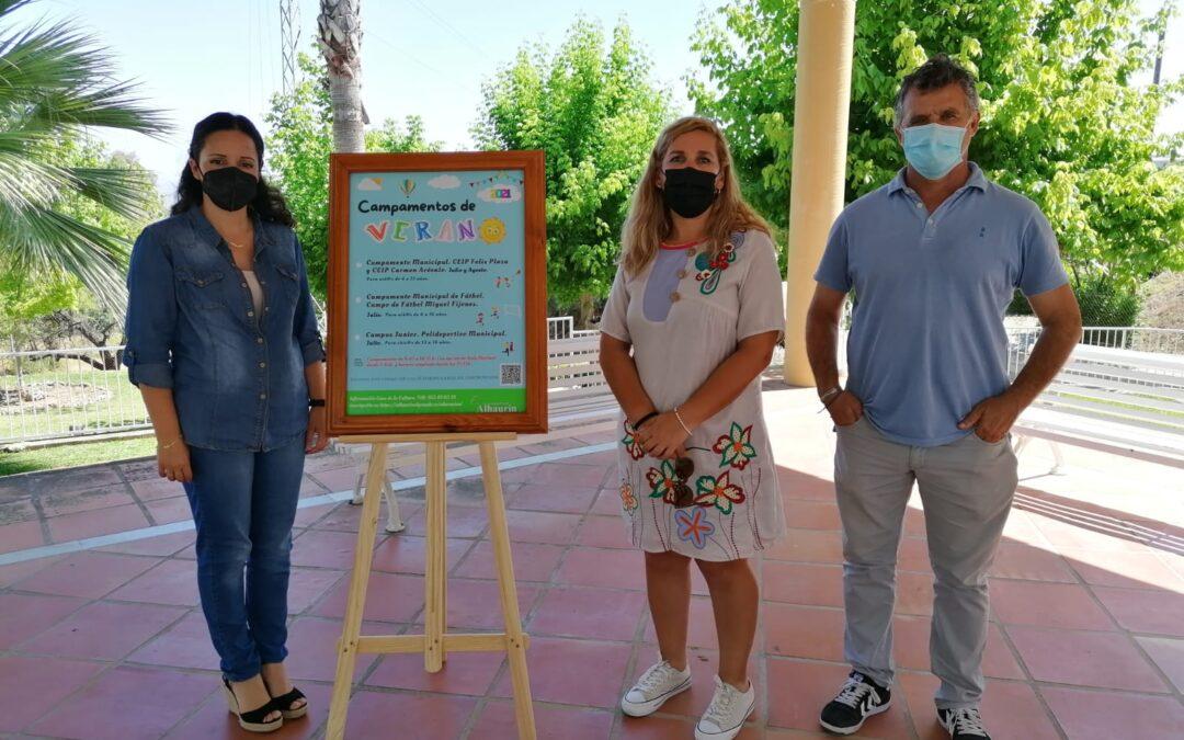El ayuntamiento de Alhaurín el Grande convoca el Campamento de Verano 2021 con tres modalidades diferentes