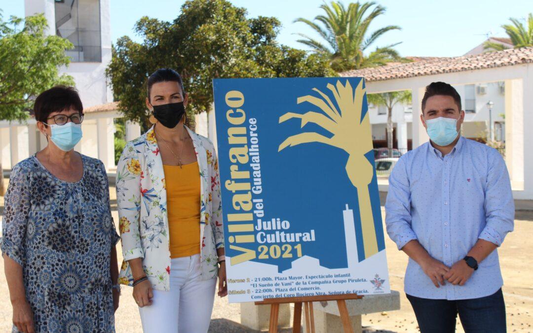 """Villafranco del Guadalhorce celebrará """"Julio Cultural 2021"""" con actividades para toda la familia"""