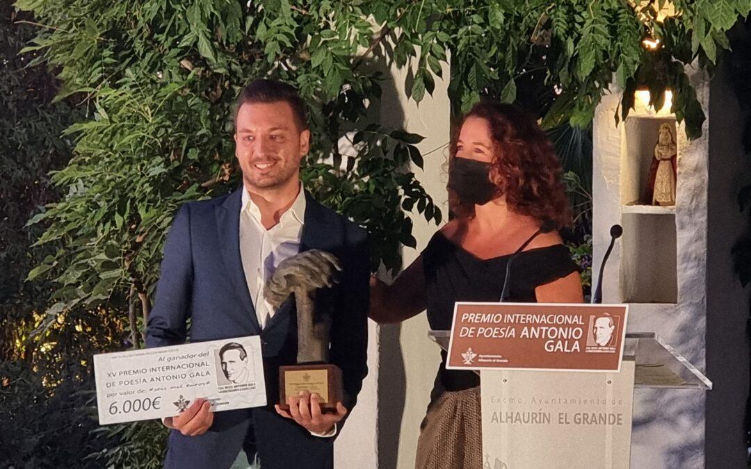 La Baltasara acoge por primera vez la entrega del Premio Internacional de Poesía Antonio Gala