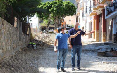 El ayuntamiento inicia las obras de reforma integral de Calle Menéndez Pidal