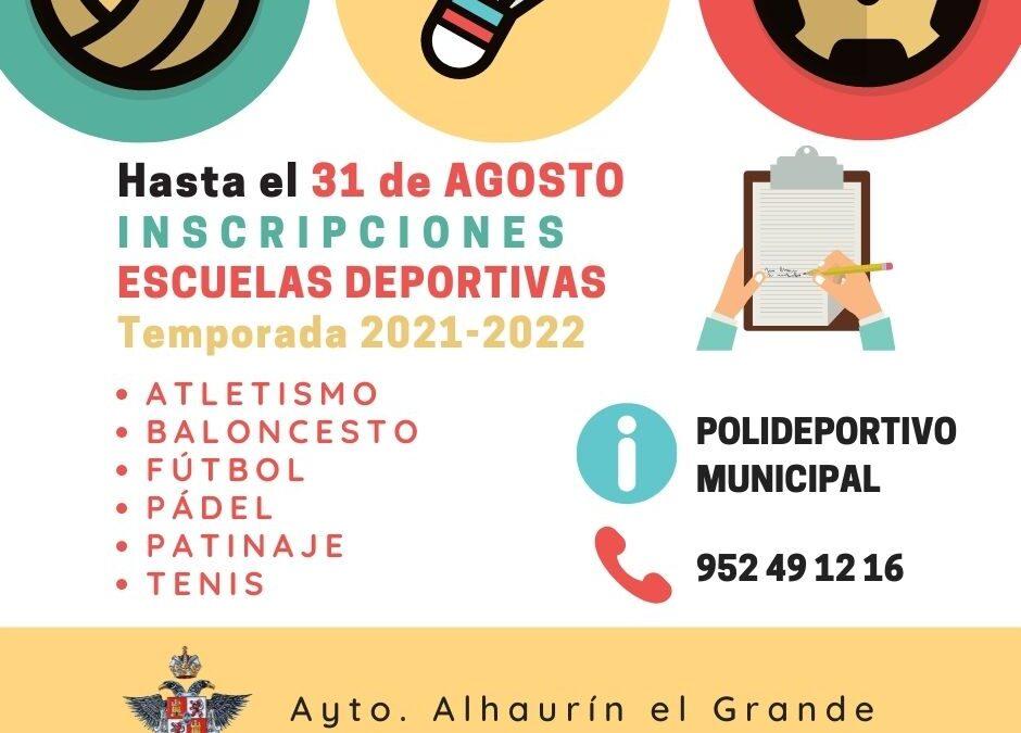 Abierto el plazo de inscripción en las Escuelas Deportivas Municipales