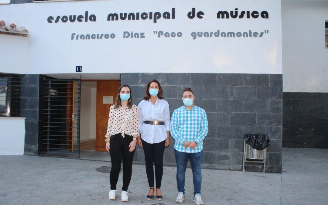 """La Alcaldesa abre el curso de la Escuela de Música """"Paco el Guardamontes"""""""